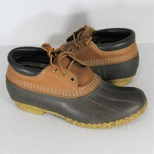 LL Bean Leather Maine Duck Low Hunting Boots F510